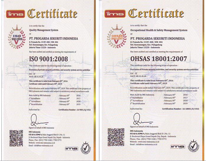 sertifikasi cleaning service